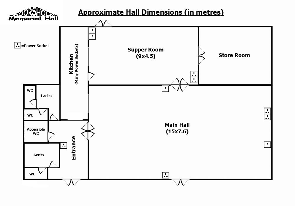 39 Moorsholm Memorial Hall 39 Dimensions Page